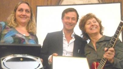 Celeste Carballo, distinguida por la Legislatura Porteña como personalidad destacada en el ámbito de la Cultura