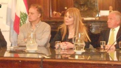 Karen Maròn,  personalidad destacada de la Ciudad Autónoma de Buenos Aires en el ámbito de la cultura y del periodismo