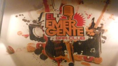 """Nuevo bar """"El Emergente"""""""