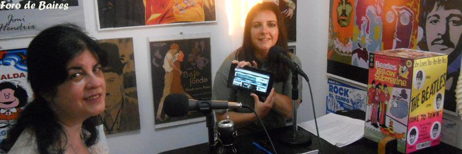 Angela Gatto en Radio Nipper