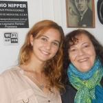 Foto: Foro de Baires Darys Shara y Mónica Schiaritti. Clubes de Barrio GCBA