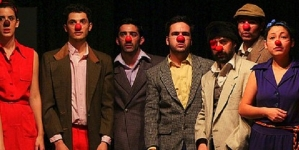 """Chicos, Chicos"": clown"