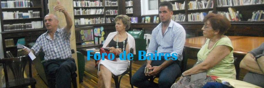 Vecinos en la Biblioteca Guido Spano