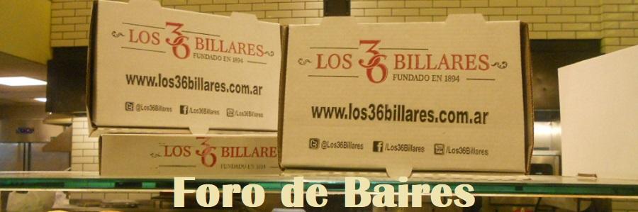 Los 36 Billares, un tradicional Bar Notable