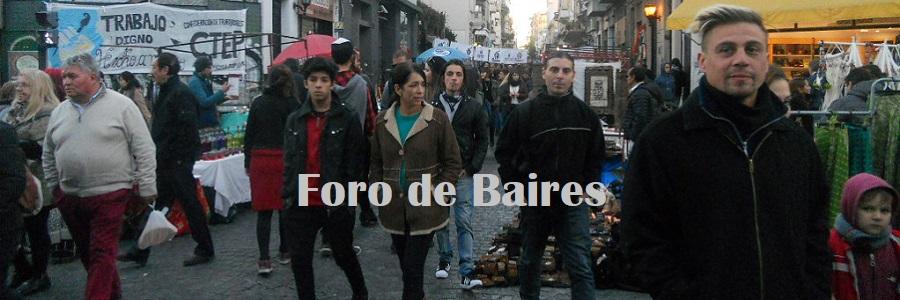 Foto: Foro de Baires
