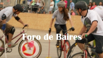 """Che Polo"" en ""Bs As Bike Polo"""