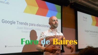 """Capacitación en las oficinas de Google con """"Google Trends para Elecciones"""""""