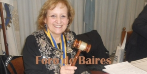 Ida De Vincenzo asumió como Presidenta del Rotary Club de Flores