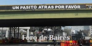 El desmonte del Puente Juan B. Justo