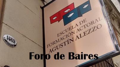 La escuela de formaciòn actoral Agustìn Alezzo