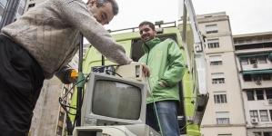 La Ciudad realiza una nueva campaña de recepeciòn de aparatos elèctricos y electrònicos en desuso