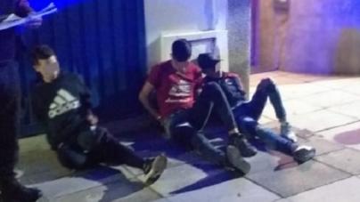 La Policía de la Ciudad detuvo a los Rompe Portones de Almagro