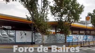 La Estación de Servicio de Palermo que quedó vacía tras su desalojo