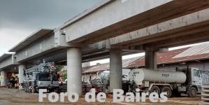 Así continúa el nuevo Puente de Palermo