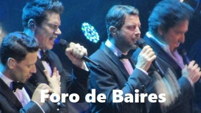 """""""Il Divo"""" cantó en el Estadio Luna Park con un predio colmado de Fans"""