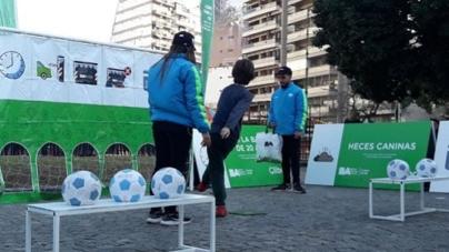 Cliba invita a los vecinos a ser los goleadores de los buenos hábitos