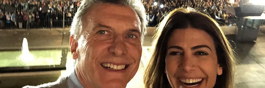 Selfie Mauricio Macri