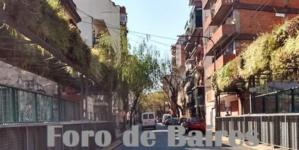 El Puente Naranja y Verde del Barrio de Almagro