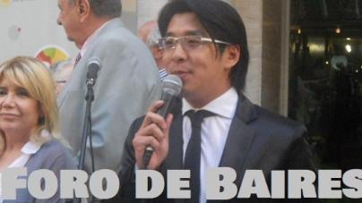 Carlos Lin fue destacado por la Legislatura Porteña