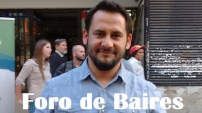 """Entrevista a Fabricio Raticelli, en el marco de """"La Noche de las Provincias"""""""