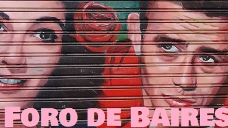 """Coffe Break"", el Bar Graffiteado de Chacarita"