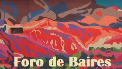 Debajo del Puente en Juan B. Justo y Av. Córdoba hay Graffitis y Arte Verde