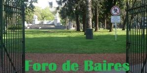 La Plaza Alemania, un predio enrejado que prohíbe el acceso a Perros
