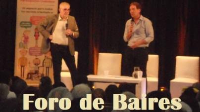 El Periodista Ricardo Canaletti visitó Palermo y dio una charla sobre Criminalística