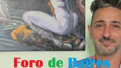 Entrevista a Damián Rucci, artista plástico, en el marco de la Semana del Orgullo