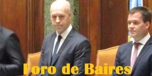 Se realizó en la Legislatura Porteña el Juramento del Jefe de Gobierno Horacio Rodríguez Larreta y el Vicejefe de Gobierno Diego Santilli