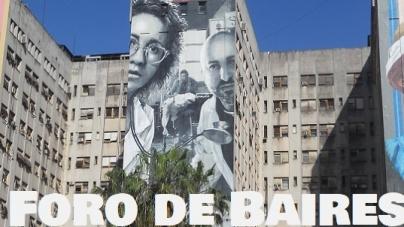 Tres inmensos Murales en el Hospital de Clínicas