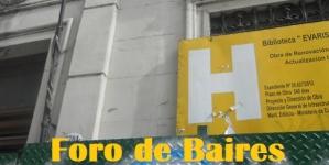 "Se viene la reapertura de la nueva ""Biblioteca Evaristo Carriego"" en Palermo"