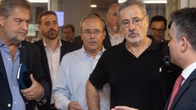 D'Alessandro recibió a Marcelo Sain en la Jefatura de la Policía de la Ciudad