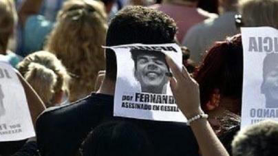 Multitudinaria marcha frente al Congreso en reclamo de justicia por Fernando Báez Sosa