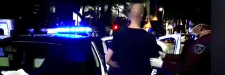 Dos extranjeros fueron detenidos tras juntarse a cenar con amigos en plena cuarentena
