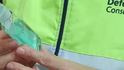 Inspectores de la Ciudad ya controlan los precios de venta del alcohol en Gel