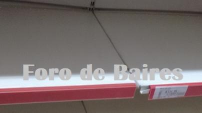 Ante un posible Decreto de Cuarentena, las góndolas de los Supermercados quedaron vacíos
