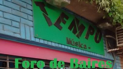 """La """"Disquería Tempo"""", uno de los pocos locales abiertos de Palermo"""