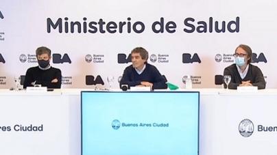 Fernán Quirós y el equipo de salud aclaró los detalles de la situación sanitaria de la Ciudad