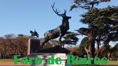 El Monumento al Ciervo de la Plaza Seeber