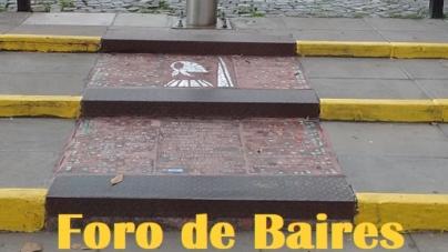 """Las Baldosas de las """"Madres de Plaza de Mayo"""" que ilustran Costa Rica y Armenia"""