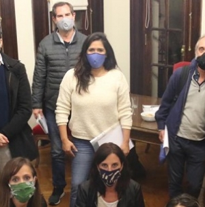 """Desde el """"Frente de todos"""" piden interpelar al Jefe de Gabinete Felipe Miguel"""