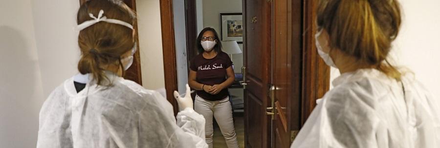 La Ciudad ya aisló a casi 23 mil porteños en hoteles para controlar los contagios