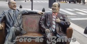 Borges y Álvarez en la soledad de la cuarentena