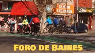 Para 2023 se abrirán más ciclovías en las Avenidas Córdoba y Corrientes