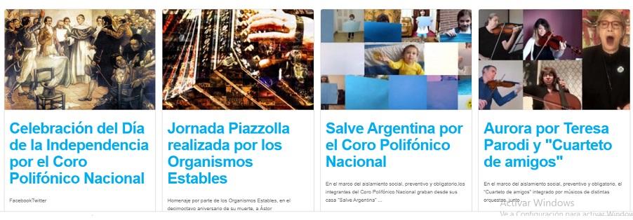 Actividades del Portal Compartir Cultura