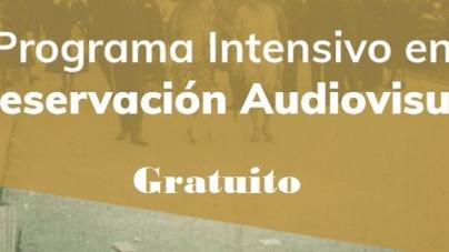 Capacitación online gratuita sobre programa intensivo en preservación audiovisual