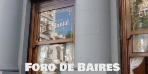 """""""El Colonial"""" es un café declarado Bar notable de la Ciudad"""