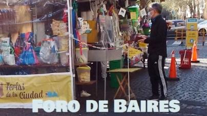 Las ferias gastronómicas barriales operan con sumo protocolo en la Ciudad