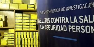 La Policía de la Ciudad secuestró 7.000 cajas de medicamentos